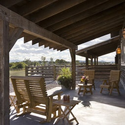 Eclectic Patio Deck Design, Pictures, Remodel, Decor and Ideas