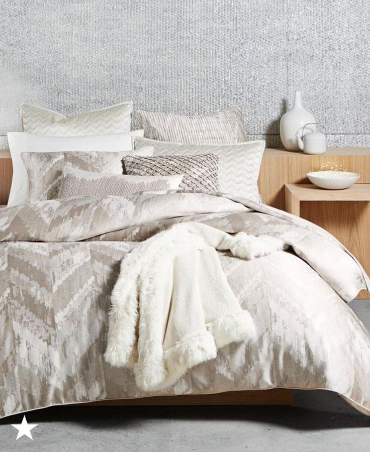 hotel collection distressed chevron bedding collection created for macyu0027s