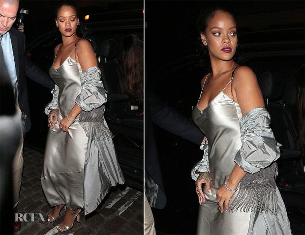 Rihanna In Nili Lotan - Chiltern Firehouse - Red Carpet Fashion Awards