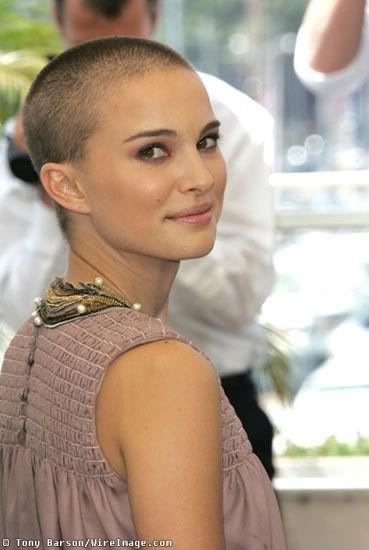 Hollywood natalie portman shaved her head