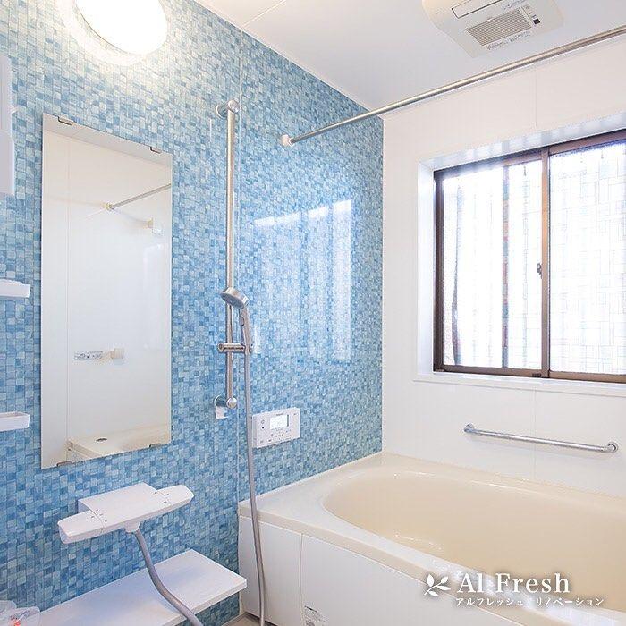 昼間と夜の寒暖差がありますね ゆったりお風呂につかって 今日の疲れをリセットしましょう アクセントパネルによって 印象がガラリ と表情が変わるので 今日は色柄違いの浴室を集めてみました 皆様は どんな気分でお風呂に浸かりたいですか