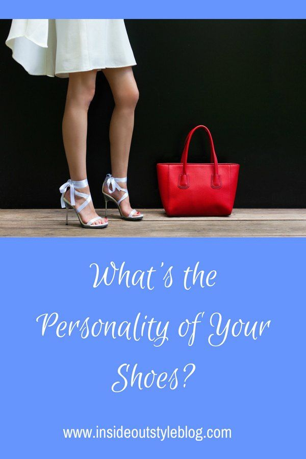 Understanding the personality of shoes and how they communicate