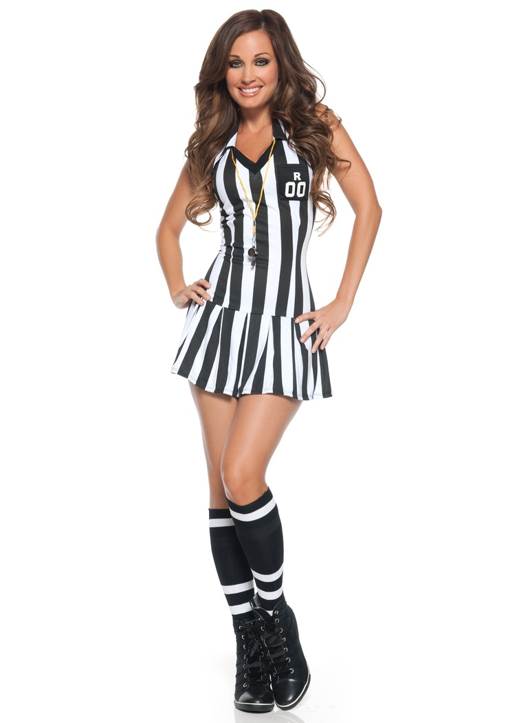 Womens Referee Costume - Adult Sexy Referee Costumes