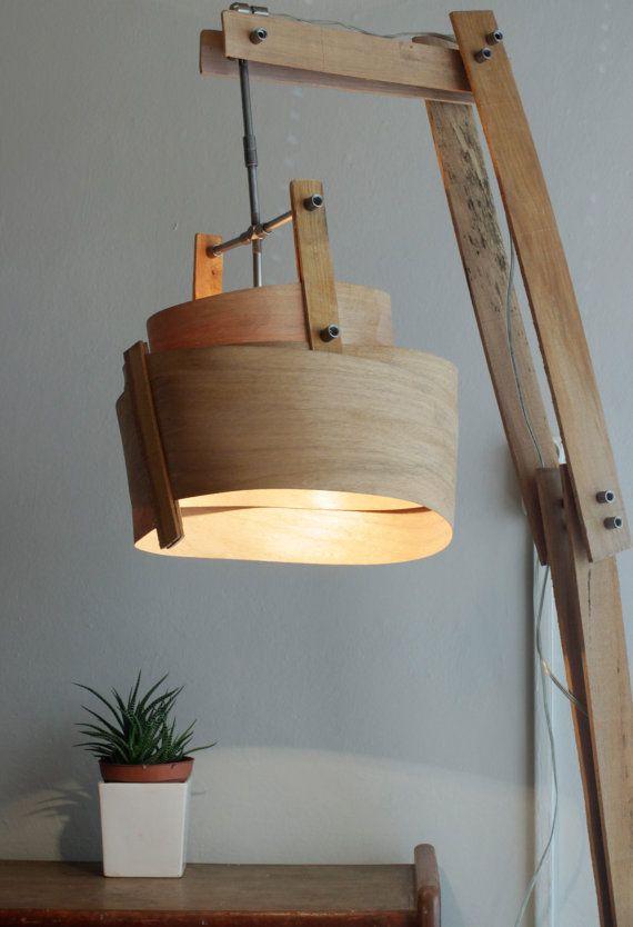 Wooden Floor Lamp, Rustic Floor Lamp, Handmade Wood Lamp - 25+ Best Ideas About Rustic Floor Lamps On Pinterest Rustic