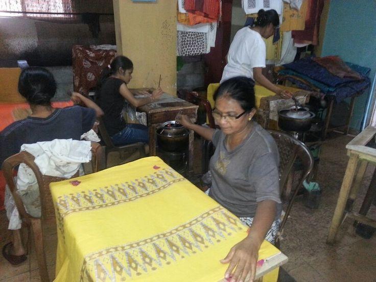 Batik fam thuis