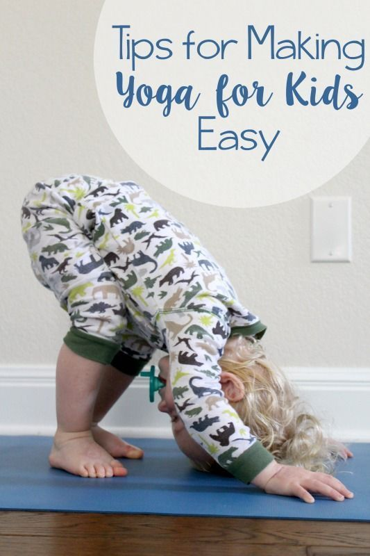 4 tips for how to make yoga for kids easy
