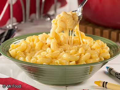 Happy Kids Macaroni and Cheese | mrfood.com