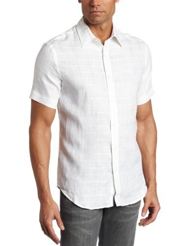 Perry Ellis Mens Tonal Plaid Linen Shirt, Bright White, Large SP Perry Ellis,http://www.amazon.com/dp/B004BRFO1S/ref=cm_sw_r_pi_dp_My2RrbFBF1F24F9A