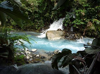 Blue River Resort & Hot Springs, Liberia, Costa Rica -- not a hard place to get too from NYC either ;)