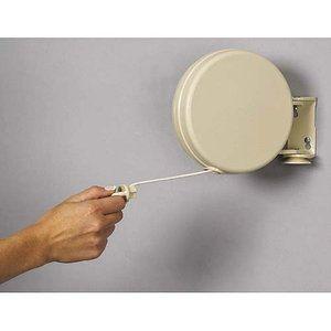 Household Essentials Single Line Retractable Clothes Dryer