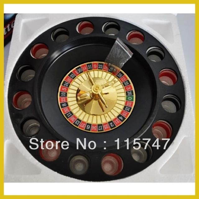 16 cup wine swivel plate, Russian roulette ROYALE CASINO, wine supplies Lucky Shot Drinking game, play for fun, free shipping