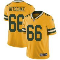 Nike Packers #66 Ray Nitschke Yellow Men's Stitched NFL Limited