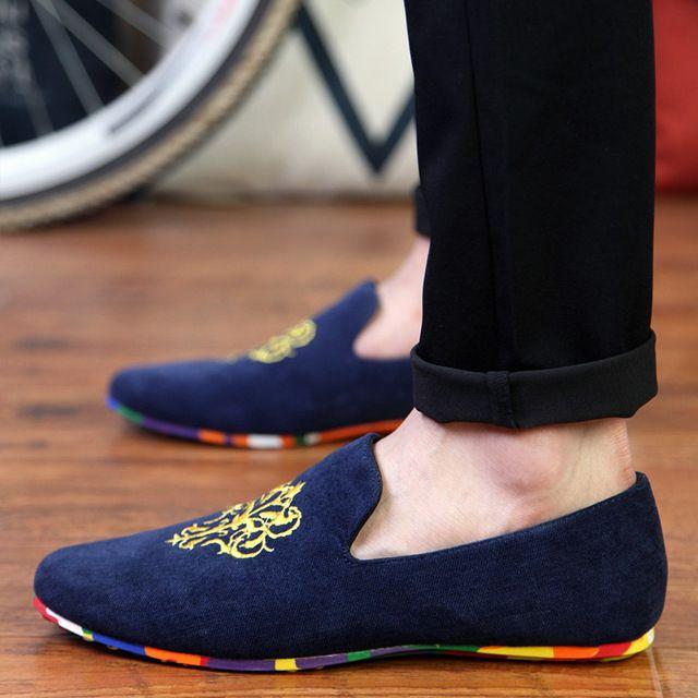 JINTOHO moda camurça dos homens sapatos de couro liso macio sapatos casuais deslizar sobre mocassins condução apartamentos mocassins homens de altíssima qualidade