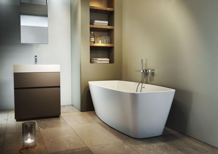 Vasca da bagno centro stanza in acrilico ESPRIT by Jacuzzi Europe