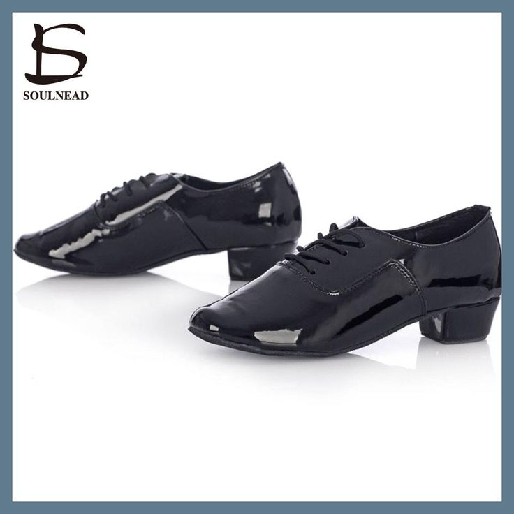 2017 Salsa Dance Shoes Mens Latin Dance Shoes Cheap Ballroom Tango Dancing Shoes Boys Black/White PU Zapatos Baile Latino Mujer