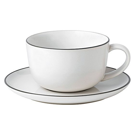 Bread Street Breakfast Cup & Saucer by Gordon Ramsay by Royal Doulton