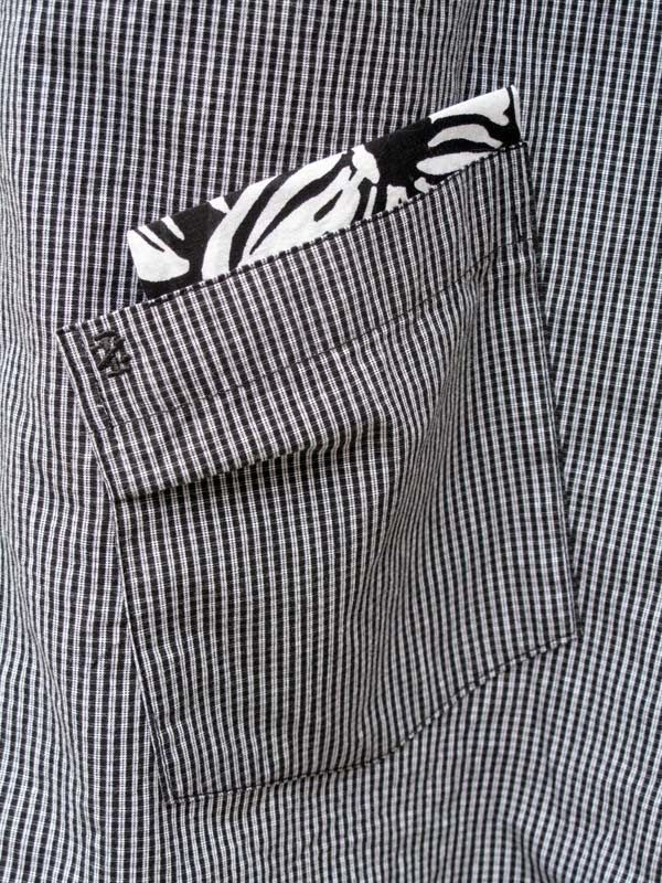 With Needle and Brush: Refashioned Men's Shirt