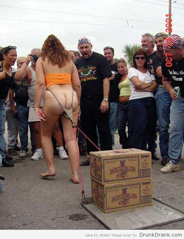 Beer pull level - Drunk Lady - http://www.drunkdrank.com/drink/beer-pull-level-drunk-lady/