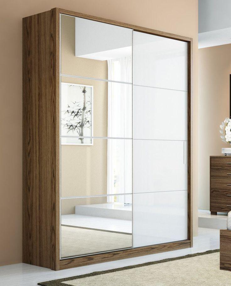Manhattan Comfort 4 Drawer Bellevue 2 Door Wardrobe