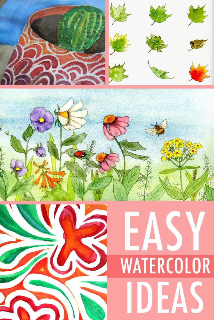 Easy Watercolor Nail Art Tutorial: 110 Best Images About Park Illustrations On Pinterest