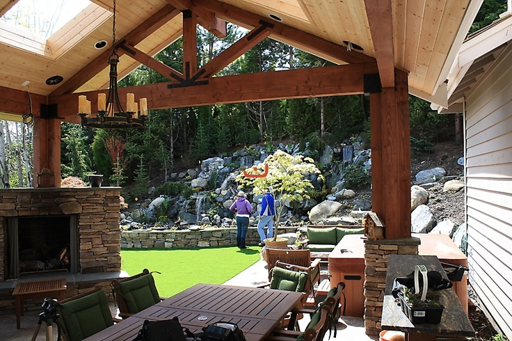 Outdoor Patio With Skylights | Backyard Spaces | Pinterest | Outdoor Patios,  Skylight And Patio