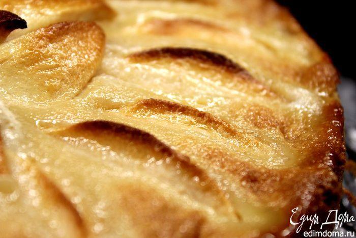 Яблочный тарт с карамельным кремом | Кулинарные рецепты от «Едим дома!»
