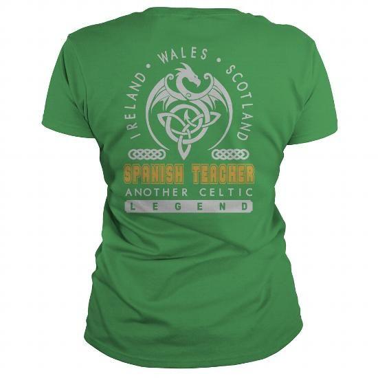 SPANISH TEACHER JOB LEGEND PATRICK'S DAY T-SHIRTS #teacher #spanish #ideas #image #photo #shirt #tshirt #sweatshirt #hoodie #tee #gift #perfectgift #TeacherDay