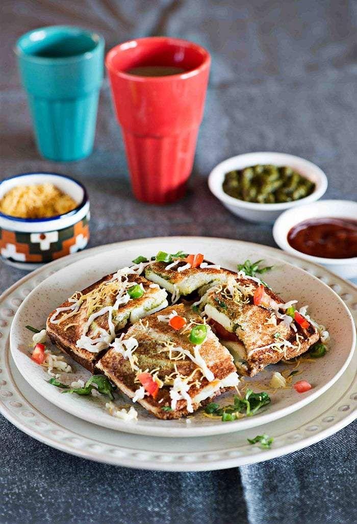 Sandwich Recipes – 5 Easy Indian Sandwich Ideas