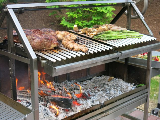 17 Best images about Asado on Pinterest | To be, Built in grill and Roof structure