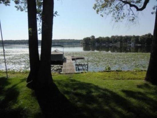 Twin Lakes Wisconsin Vacation Rentals - Lake House for Rent - On the Lake, With Pier