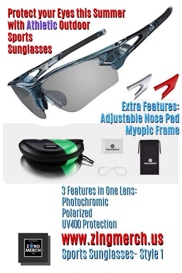 Sports activities Sun shades – Model 1 & Model 2