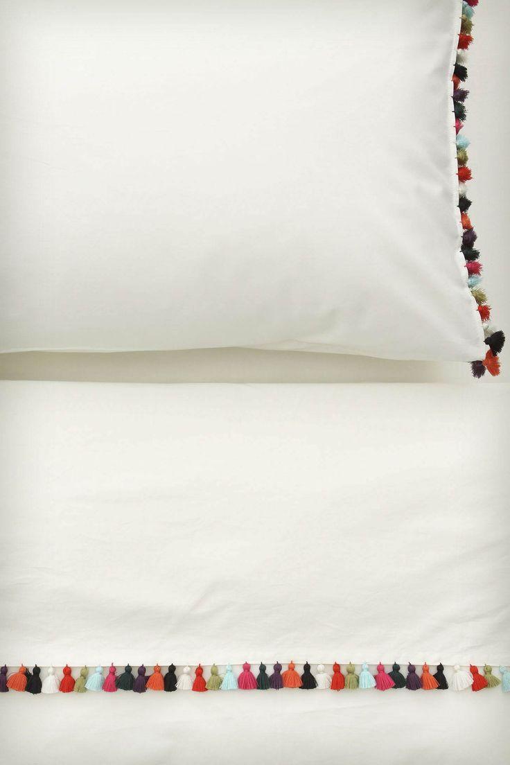 Sombrero Sheet Set - Anthropologie.comDecor, Ideas, Anthropology, Sheet Sets, Pompom, Sombrero Sheet, Bedrooms, Beds Linens, Pom Pom