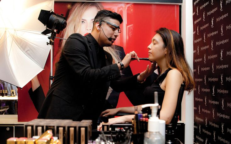 The cosmetics industry is embracing new technologies, as it attempts to   attract a new wave of digital natives