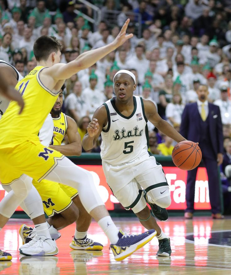 Game thread Michigan holds off Michigan State, 7768 in