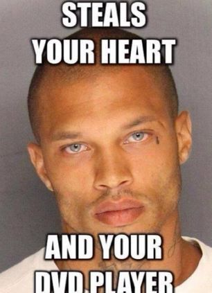 Jeremy Meeks' wife is 'furious' about online jokes and memes