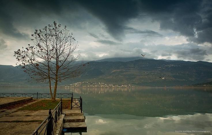Ioannina lake, Greece