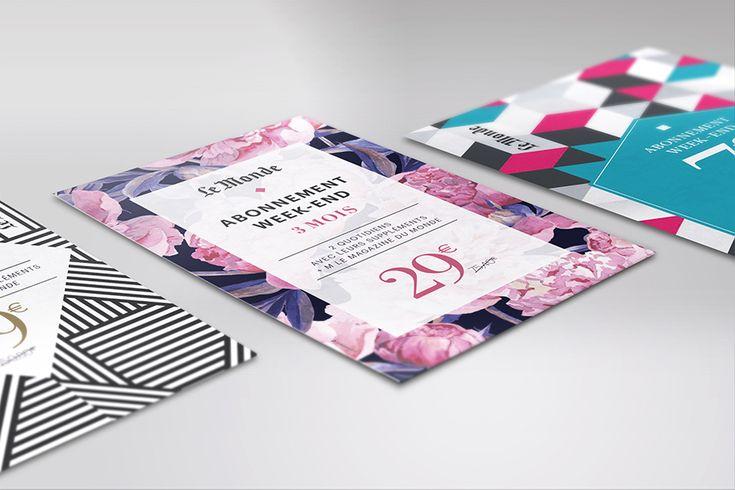 Ynfluence - Création marketing direct pour Le Monde