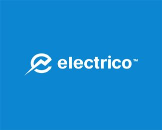 Electrico Logo Design | More logos http://blog.logoswish.com/category/logo-inspiration-gallery/ #logo #design #inspiration