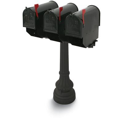 postal products unlimited underwood multiple colonial steel mailboxes commercial mailbox - Commercial Mailboxes