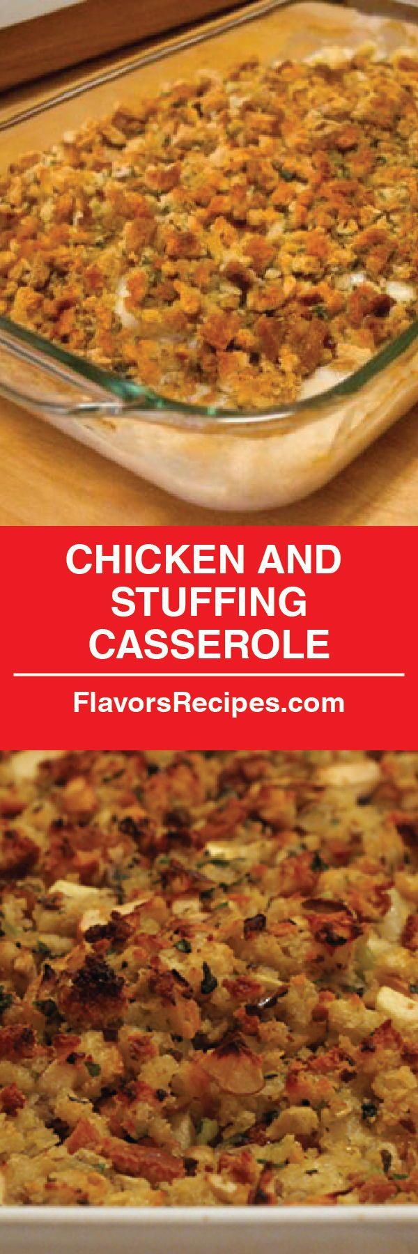 Chicken and Stuffing Casserole!!!