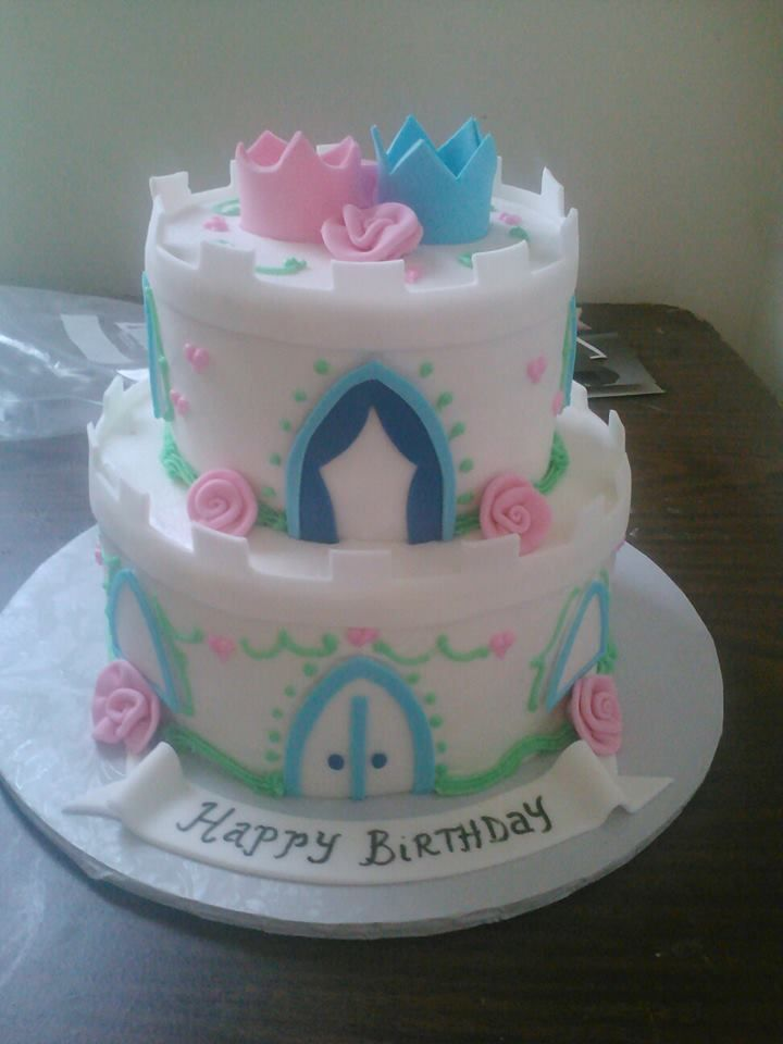 Birthday Cake Princess Images