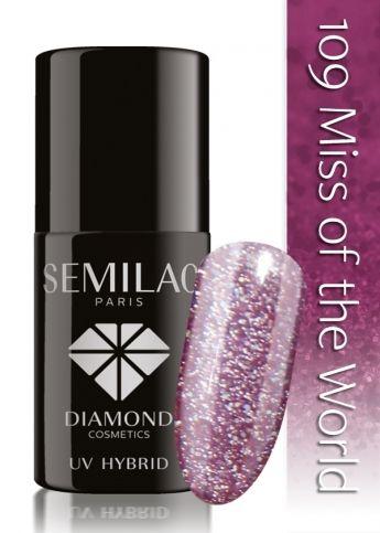 Lakier hybrydowy Semilac 109 Miss of the World - 7 ml