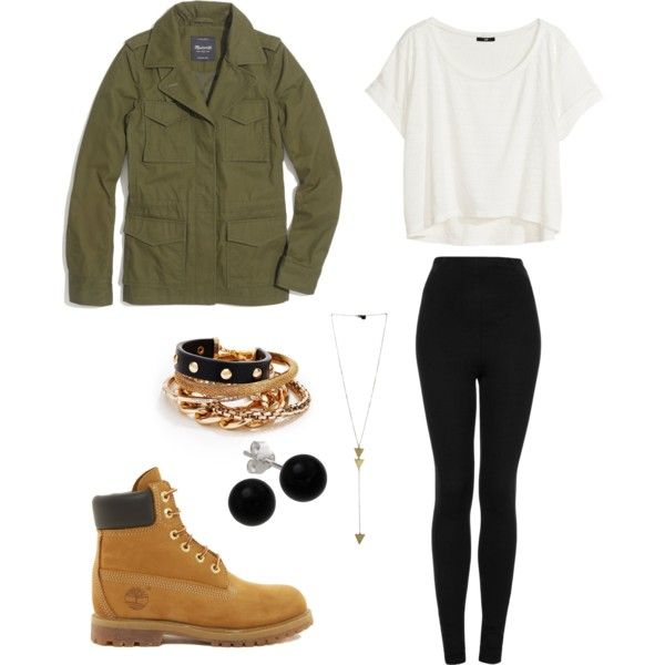 Timberland Inspired Outfit