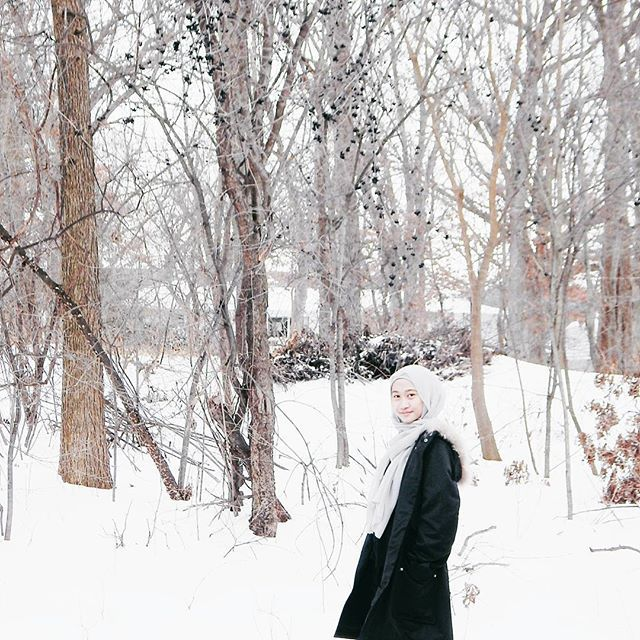Hijab winter fashion