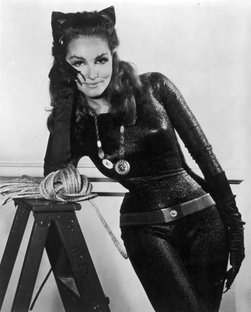 Julie Newmar--The org Cat Woman in the old org batman weekly series