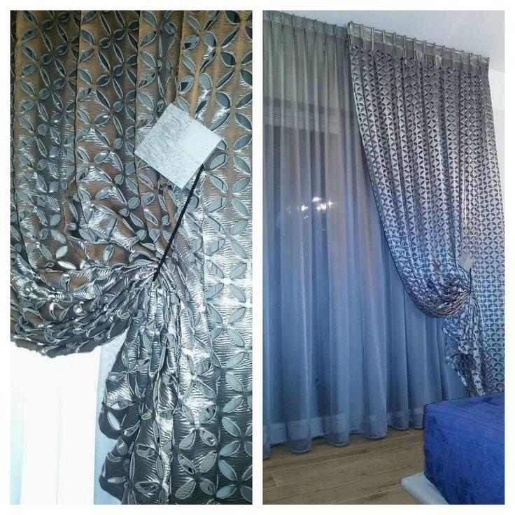 SPAZIO AI VOSTRI PROGETTI! Idee tendaggio realizzata da Annamaria Raggio - Tende Località: Casoli (CH)  Ci presenta una splendida idea tendaggio per una camera da letto realizzata con l'articolo #Cucciolaio della Collezione #Colette! Magnifico lavoro artigianale!  #tessuti #interiordesign #tendaggi #textile #textiles #fabric #homedecor #homedesign #hometextile #decoration Visita il nostro sito www.ctasrl.com e scarica le nostre brochure su: http://bit.ly/1nhrLQM