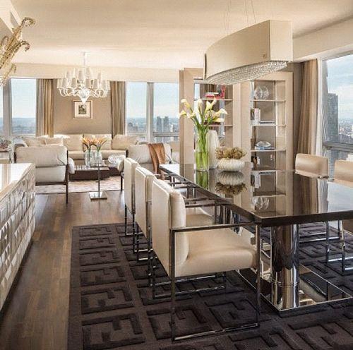 Big Dreams & Luxury Taste. Modern dining room table. http://www.bocadolobo.com/