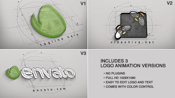 Architect Logo Reveal (3 versions)  • See it in action ➝ https://videohive.net/item/architect-logo-reveal-3-versions/9919777?ref=pxcr