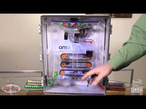 DigiKey uses an ams color sensor to create a color sensing candy sorter. Check it out & get more details on ams color sensors at DigiKey.com!