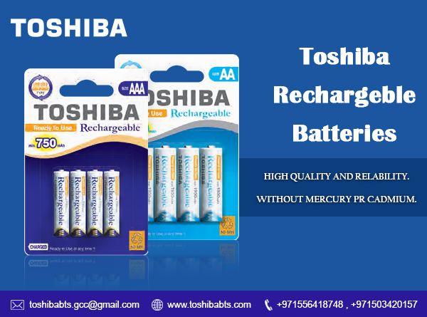 Toshiba Rechargeable Battery Aa Aaa Size Toshiba Rechargeable Batteries Recharge